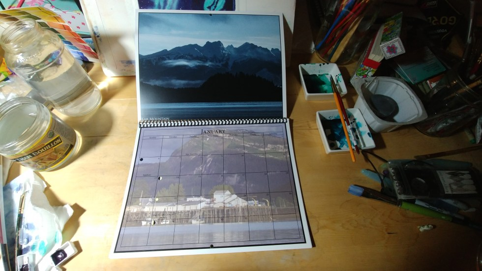 2019 Calendar, Alaska, Hoonah, For Sale
