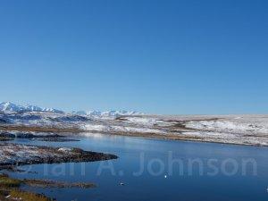 Toolik Lake behind the station.
