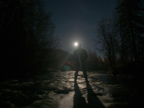 Full Moon at the Chena Hot Springs