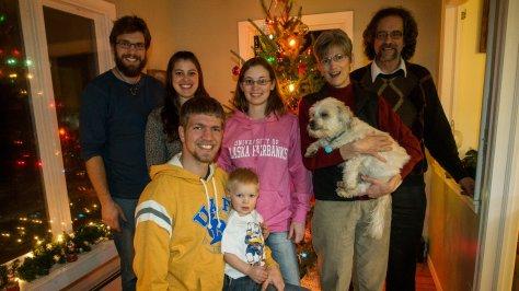 The Johnson Family 2013 family photo
