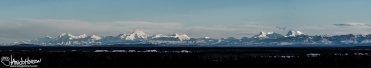 Alaskan Range Panoramic