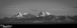 Alaska Range from Fairbanks, Alaska