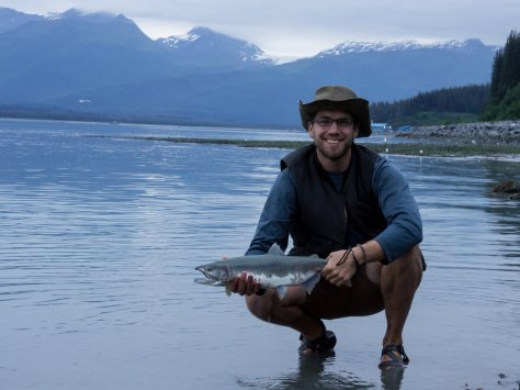 Pink salmon caught outside around Valdez
