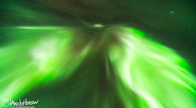 Experiencing the Aurora Borealis in Denali National Park