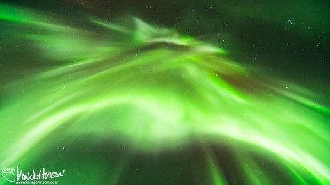 An image of the corona 'pencils' flashing overhead!