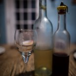 November 4th : Enjoying a glass of wine