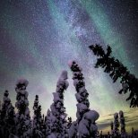 December 8th : Milky Way Panorama in Fairbanks Alaska