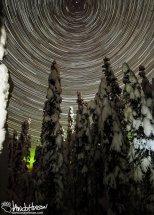 November 11th : Star spin over a winter wonderland