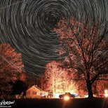 November 7th : Star spin over deer camp