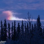 November 16th : A bright portion of sundog in the sky