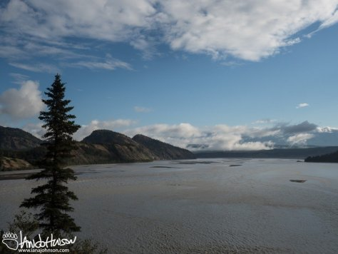 Chitina River Bluff View