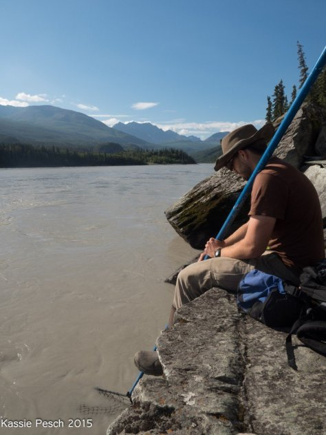 Chitina River Dipnetting Technique