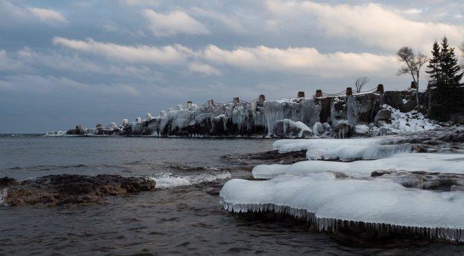 A Superior Coast of Stone and Ice