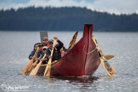 Canoe, Dugout, Hoonah, Alaska, Tribal House Dedication
