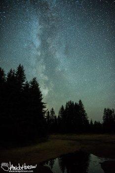 Milky Way, Hoonah, Alaska