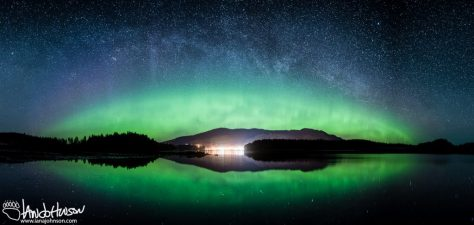 Icy Strait Point, Northern Lights, Hoonah, Alaska, Southeast Alaska