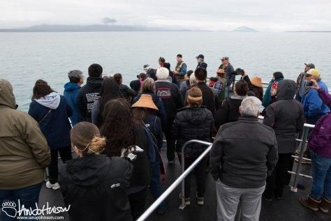 Glacier Bay, Totem Raising