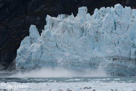 Marjorie Glacier, Glacier Bay National Park, Calving