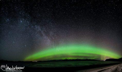 Aurora, Hoonah, Creative Photography, Alaska, Green, Ocean, Icy Strait, Mountains, Panorama