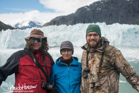 Family, Glacier Bay National Park, Southeast Alaska, Alaska