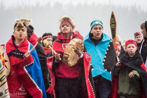 Glacier Bay National Park, Tlingit, Hoonah, Totem Pole, Tribal House