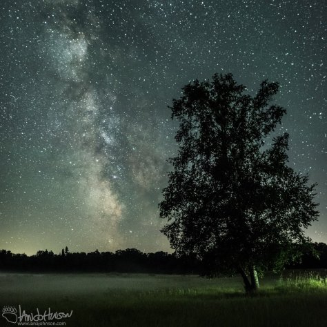 Milky Way, Minnesota, Galaxy, Butler, Midwest