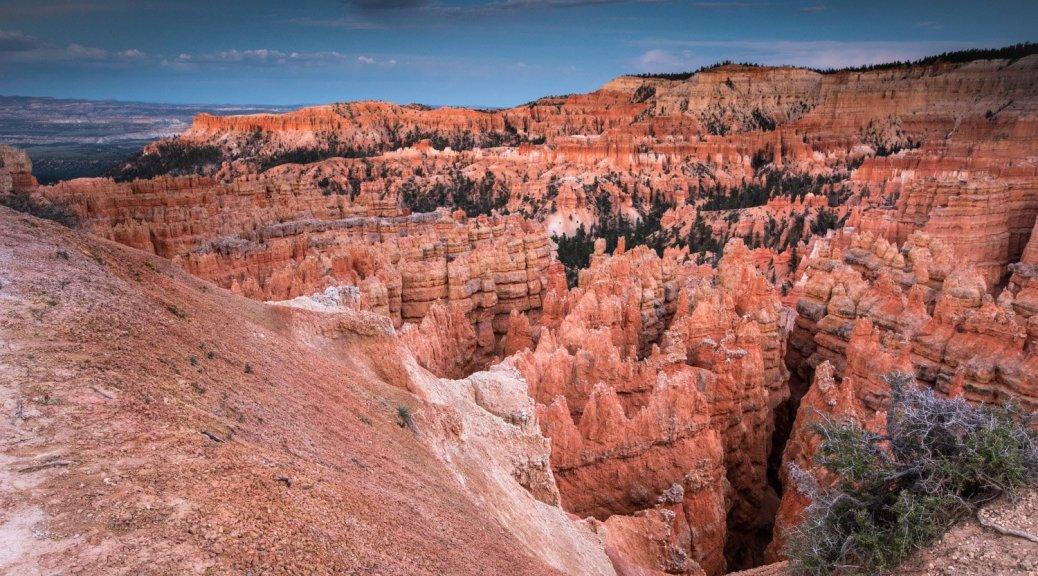 Bryce Canyon, Landscape, Stars