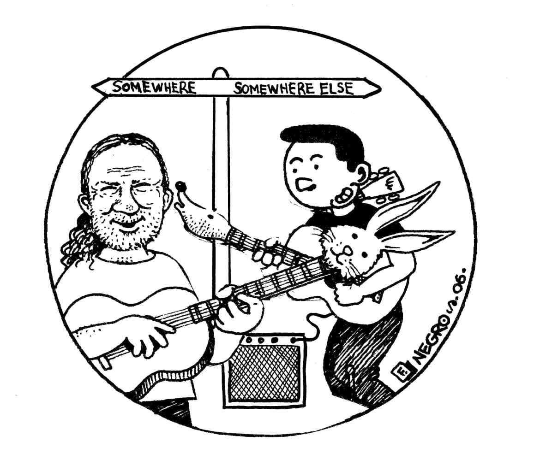 20150215-IanBland-JACK RABBIT & DAVE MOLL POSTER-BW