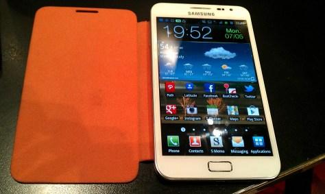 Original Samsung Galaxy Note Phone