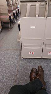 Extra leg room seats on Emirates for free  Ian Burleys BLOG