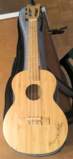 Aklot bamboo ukulele