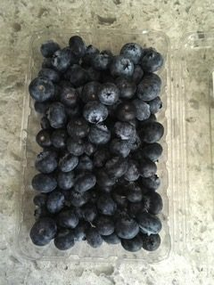 Blueberries from Peru