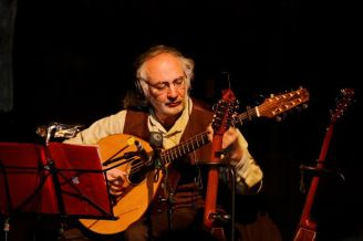 Doc and the big cittern