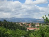 A view over El Escorial, a town close to Madrid.