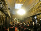 Library at the Senate Building in Madrid.