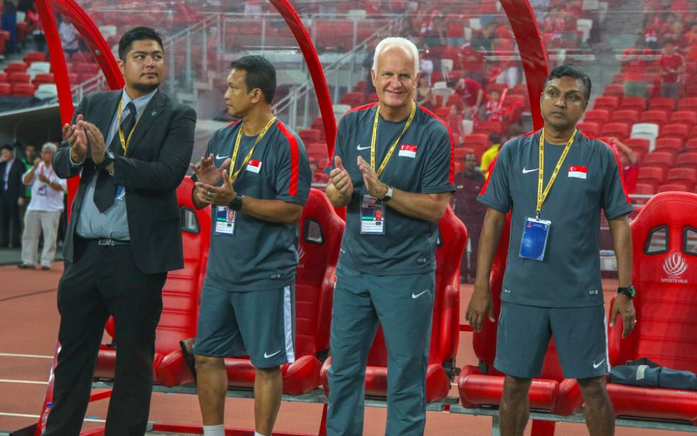 Stange needs to call spade a spade and get tough on the Lions. Photo: FAS