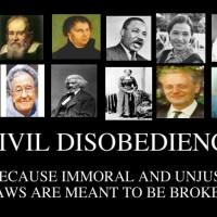 """Civil disobedience """"อารยะขัดขืน"""""""