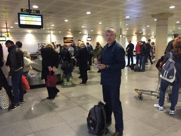 Эль Прат. Аэропорт Барселоны. Надо забрать свой багаж