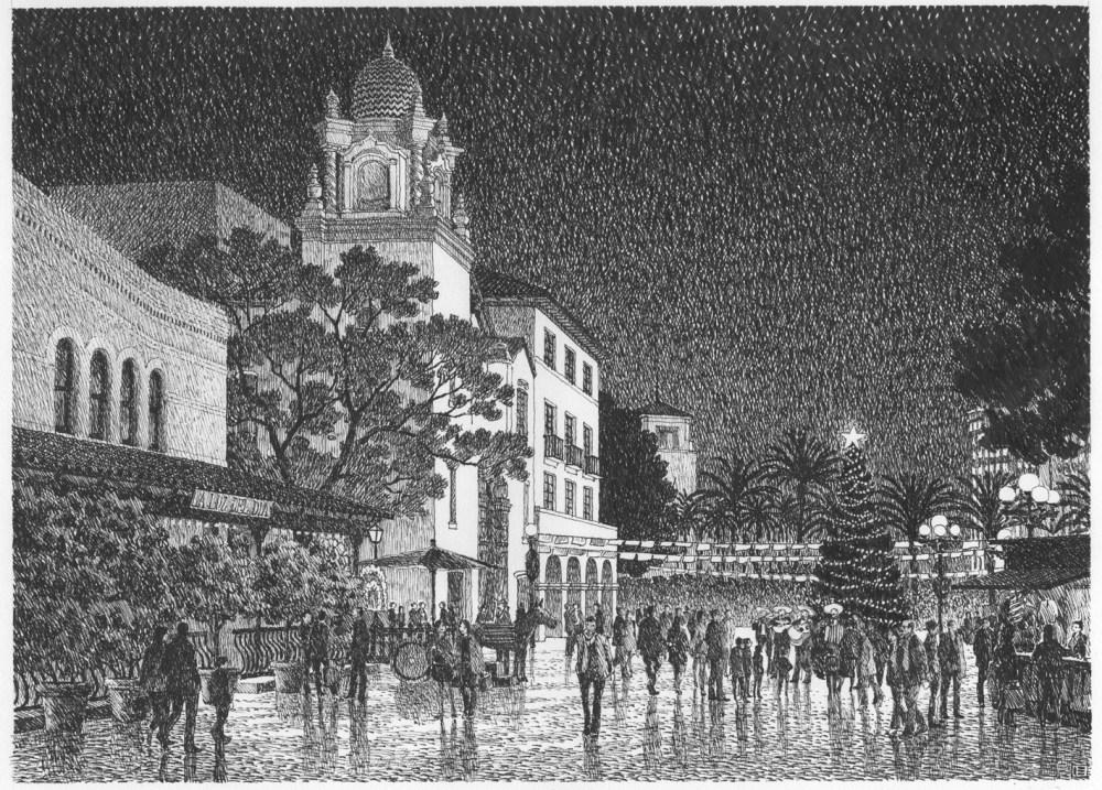 Olvera Street by Ian Espinoza