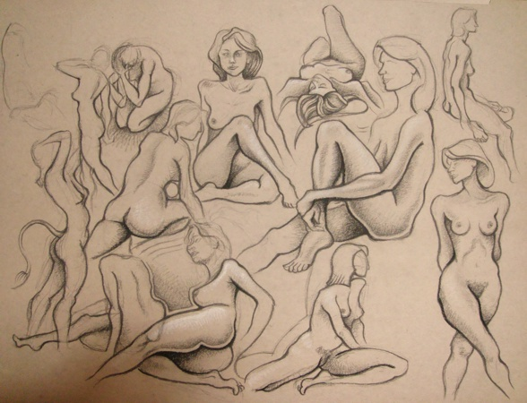 Young women nudes penetration
