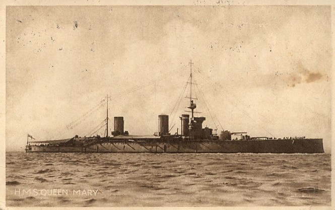 WWI-HMSQueenMary
