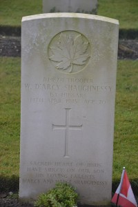 SHAUGHNESSY Wm Darcy war grave from mapleleaflegacyproject