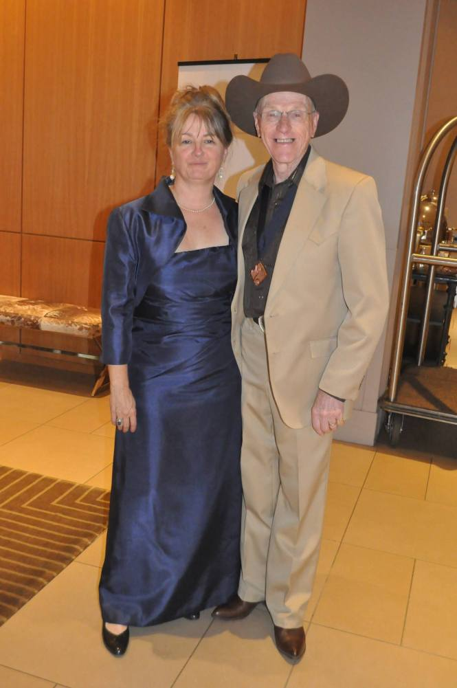 BOURQUE Johnny and Teresa at Hall of Hame Induction Saskatoon SK Sept 2012