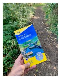 AA 50 Walks in Cornwall book