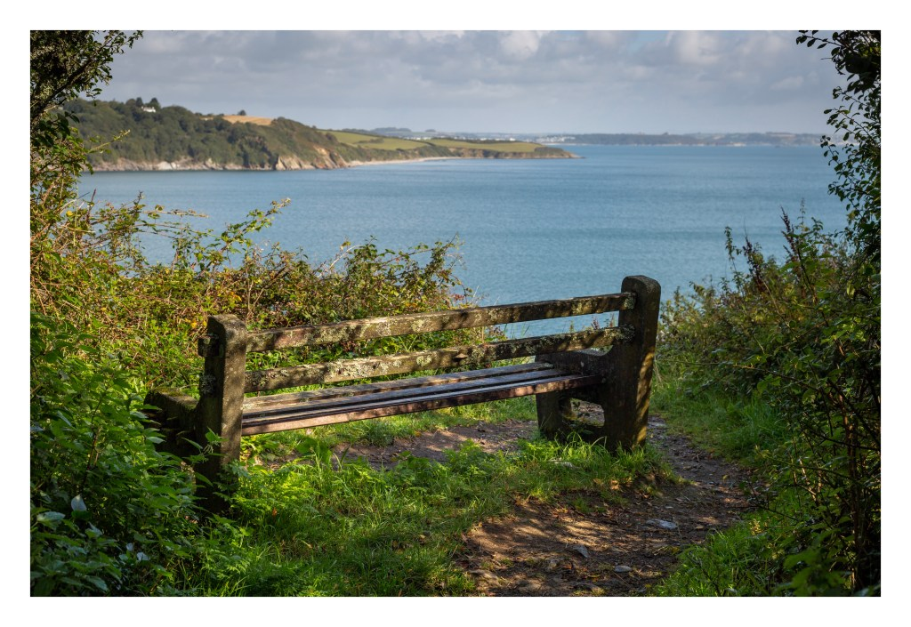 Bench over looking the Helford