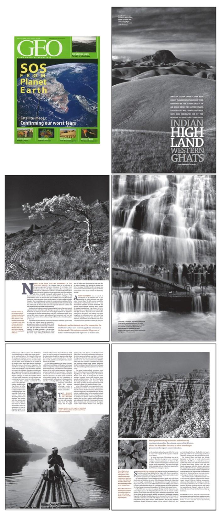 Main Western Ghats article (Geo, February 2009)