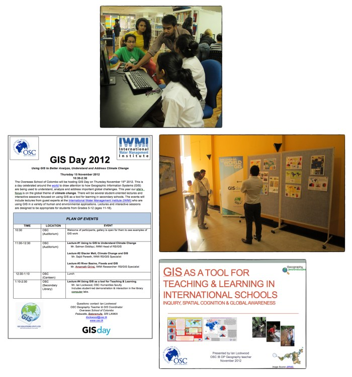 GIS Day 2012 Collage