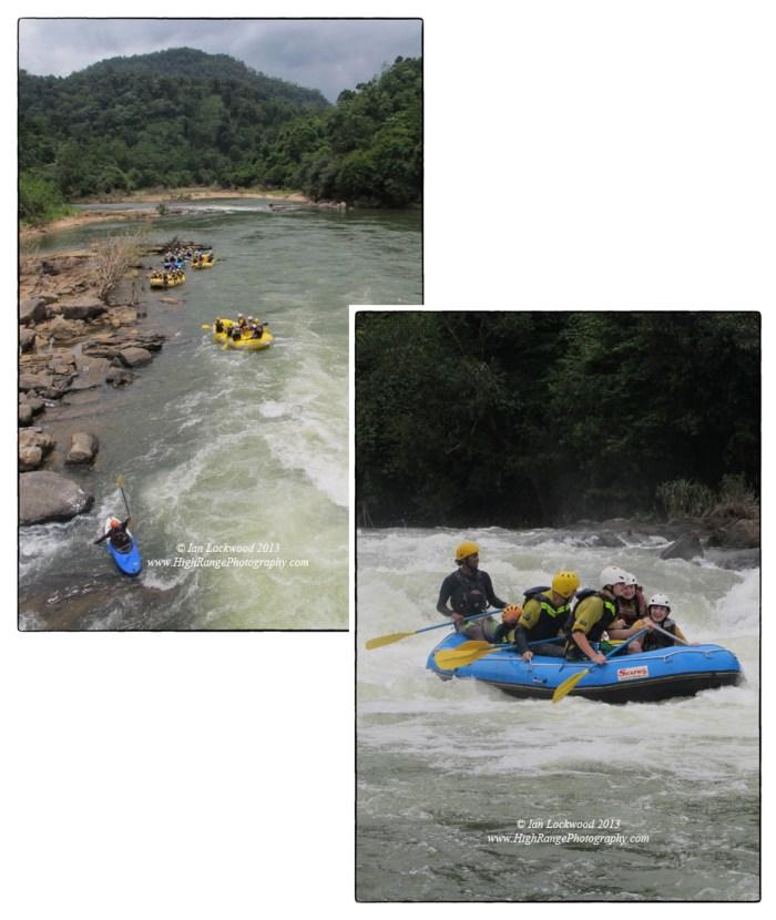 OSC's Class of 2015 Rafting the Kelani River.