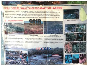 Ecological information posted in Vidataltivu.