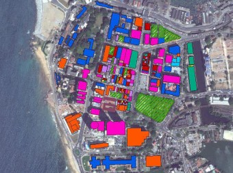 DP 1 Geography EE map of Colombo CBD Sadira using Open Street data and ArcGIS (OSC Class of 2016)